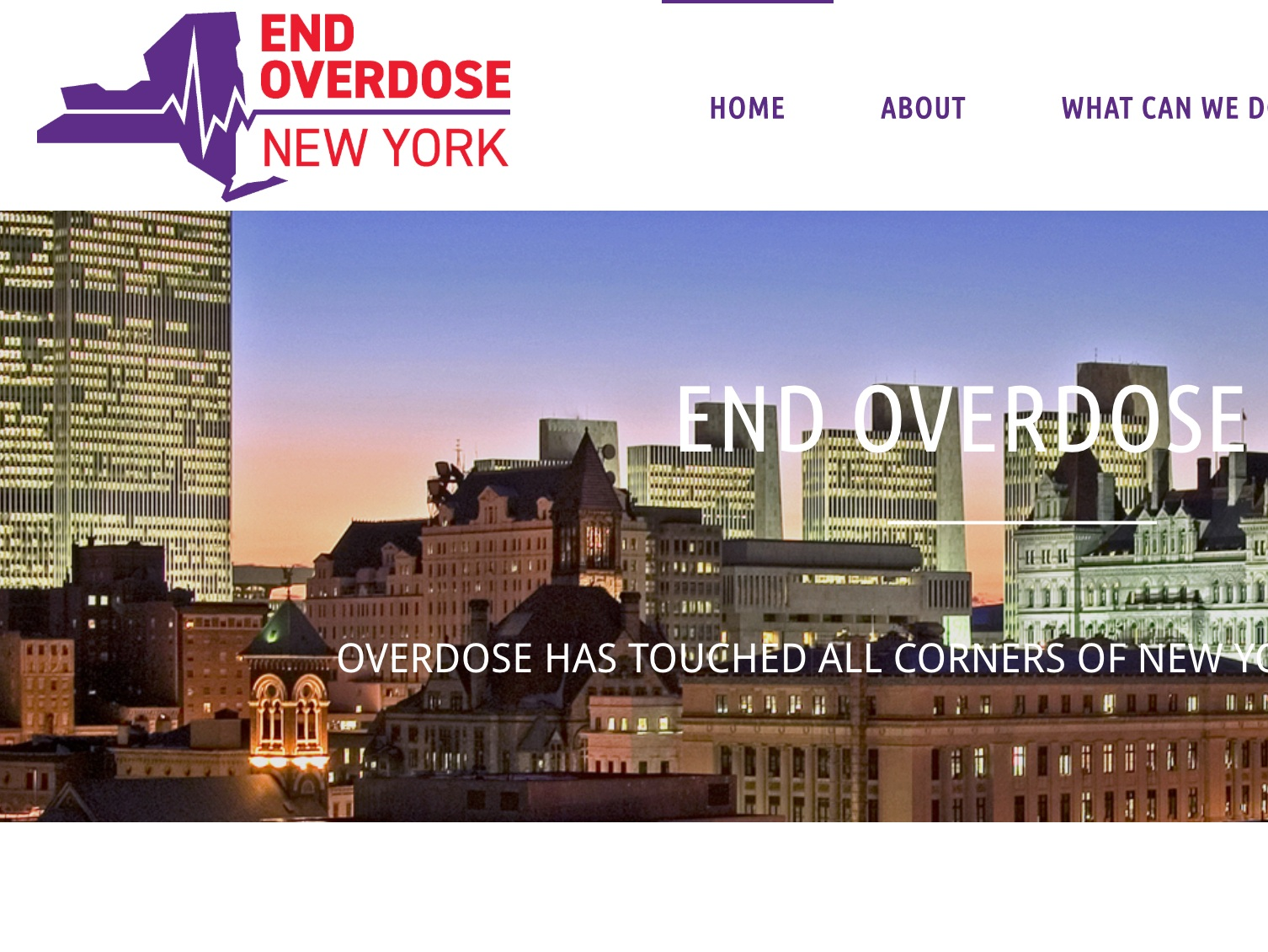 End overdose New york - End Overdose New York is a campaign to support evidence-based harm reduction and public health centered responses to opioid overdose.