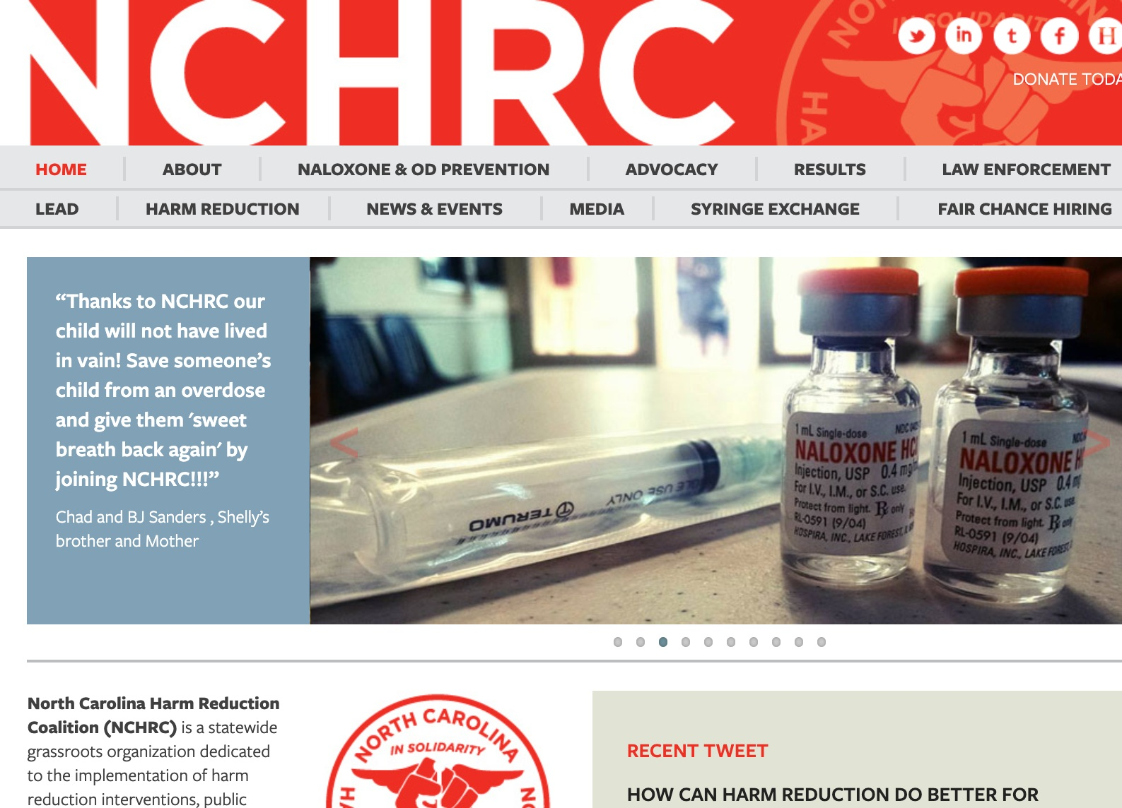 north carolina harm reduction coalition - North Carolina Harm Reduction Coalition (NCHRC) is NC's most comprehensive harm reduction agency. Their website includes extensive resources, education, and advocacy opportunities.