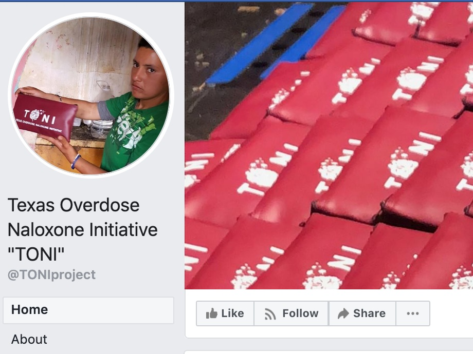 texas overdose naloxone initiative - TONI is dedicated to educating the public about overdose prevention and community support for the state of Texas and making life-saving medication more available to the opioid using population.