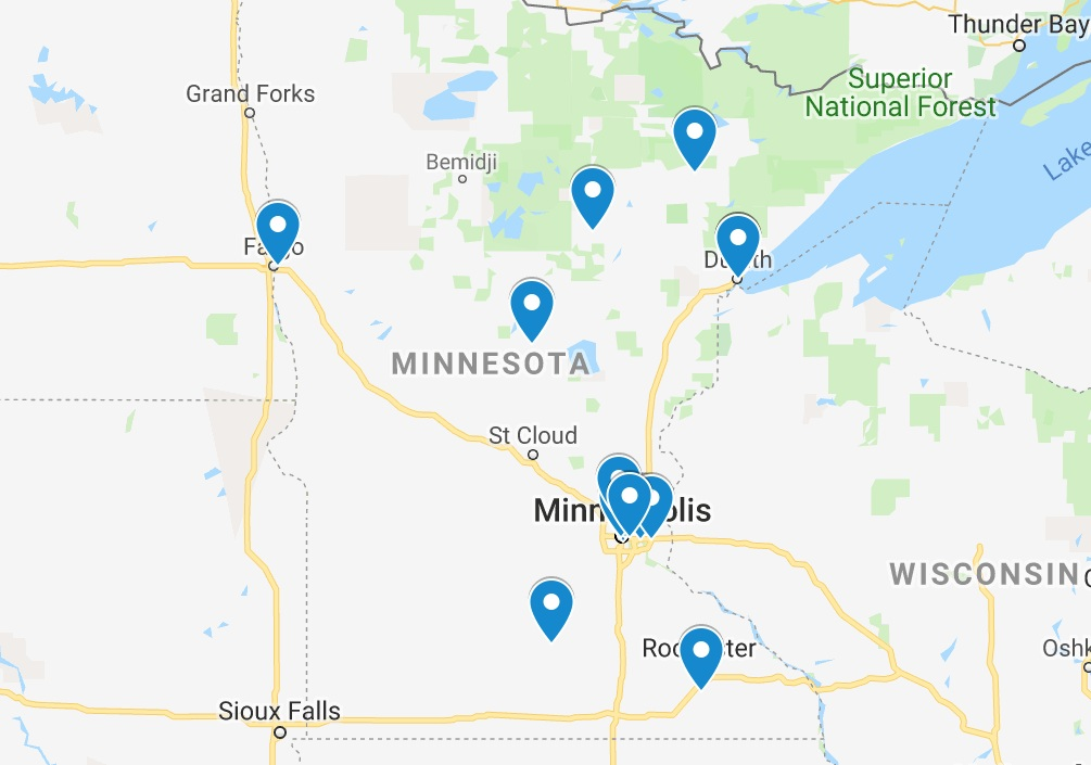 Minnesota harm reduction - Use this map to access information about Minnesota's harm reduction program network. Many groups provide mobile and delivery services within their county or multiple counties. Contact the program closest to you for more information.