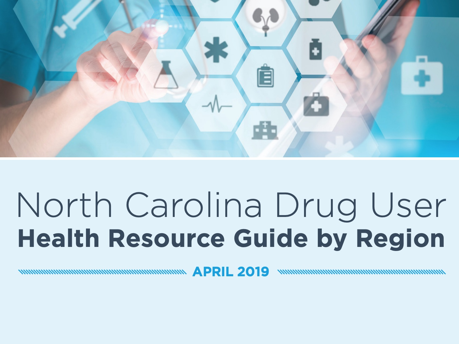 Drug user health resources - The North Carolina Drug User Health Resource Guide is full of region-specific resources and support options including but not limited to syringe access, drug treatment, testing and health services, and social services.