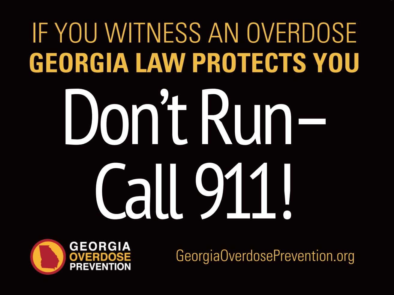 Georgia 911 Medical Amnesty law - Georgia provides limited immunity from being arrested, charged, and prosecuted for possession of certain amounts of drugs and drug paraphernalia for the victim of an overdose and the 911 caller who seeks help for the victim. This immunity also applies to a medical emergency involving an underaged drinker and the 911 caller who seeks help for them.