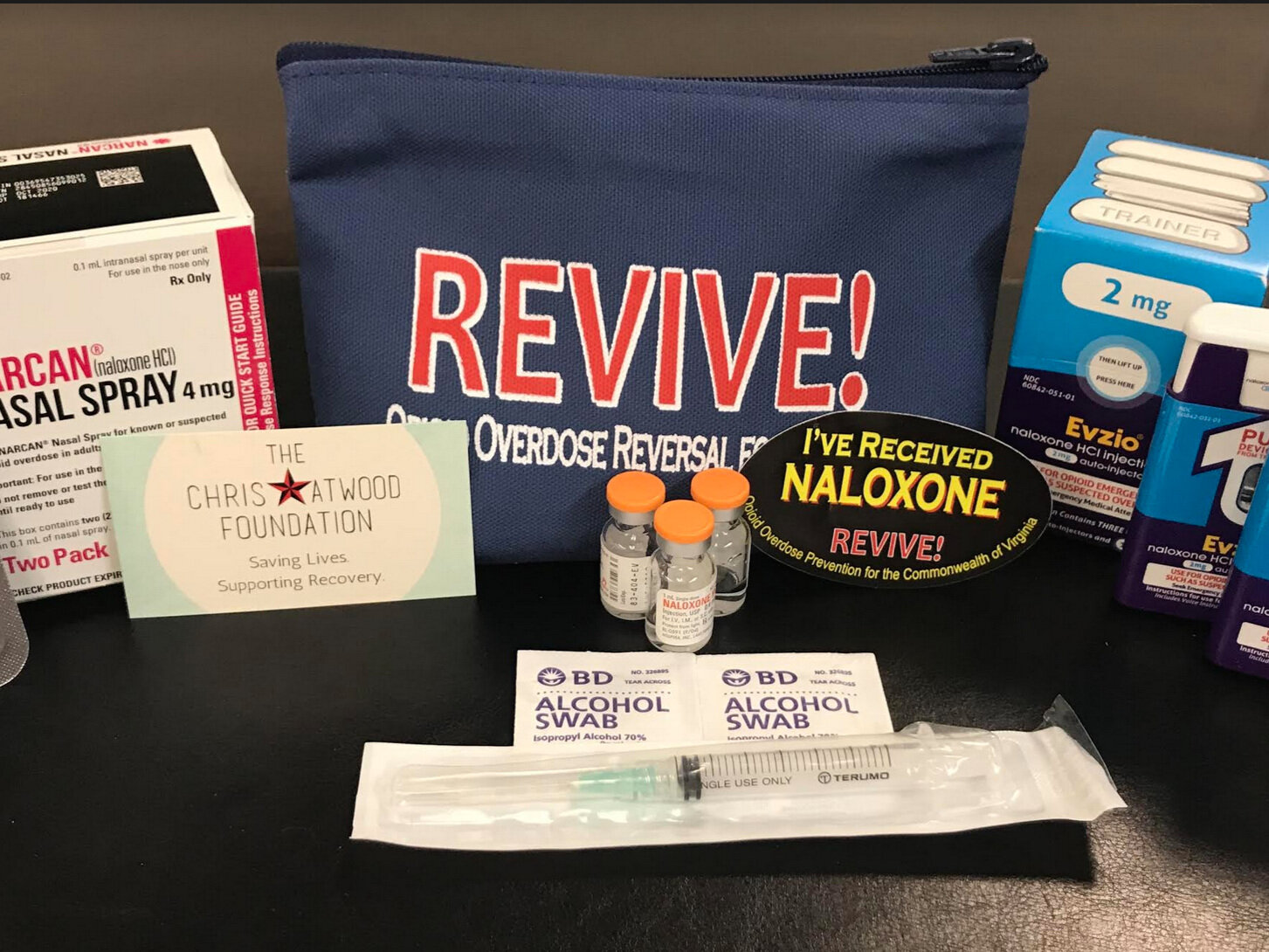 Have naloxone mailed to you - With the partnership of Chris Atwood Foundation you can have naloxone mailed to you at no cost. Individuals who use drugs and those who are likely to be first responders (friends, loved ones) are prioritized for naloxone distribution.