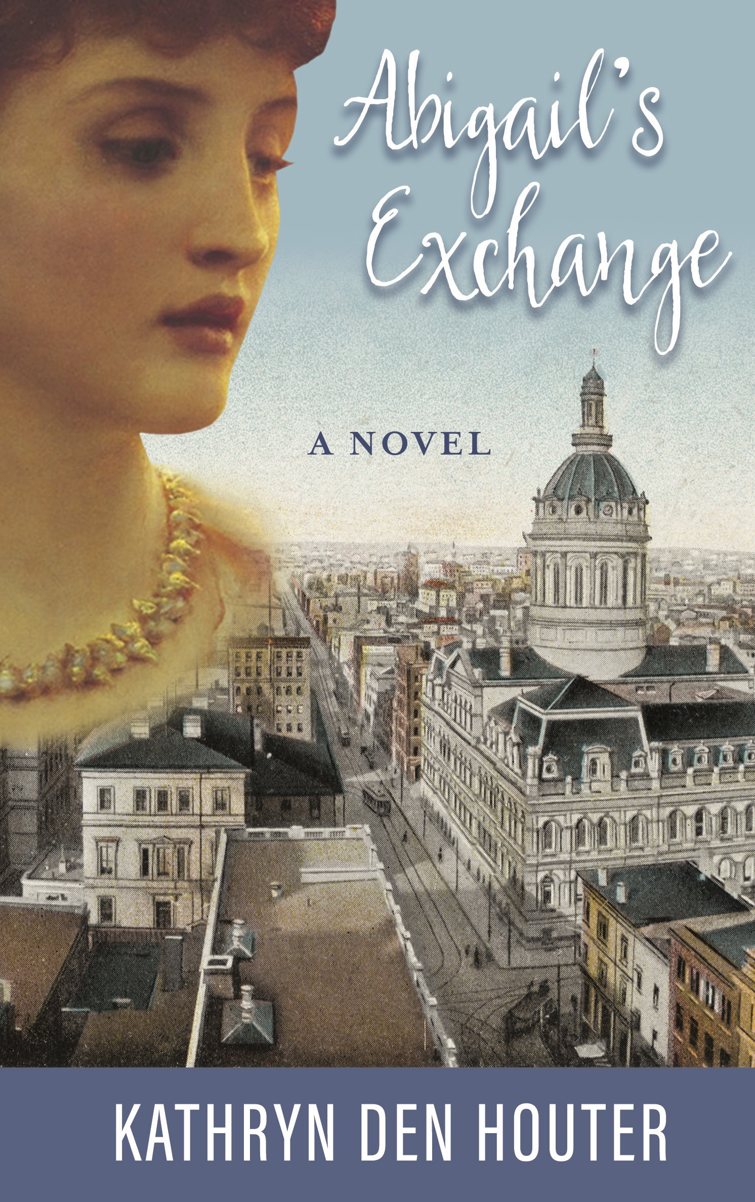 - Abigail's Exchange is the inspiring story of a young lady who comes of age in the late 1800s in Baltimore, Maryland. Raised to own and manage a candy shop, which is left in her hands following tragedy, she struggles with her career and her wedding vows when she finds herself locked in the stranglehold of a difficult marriage. In Abigail's life, the reversals of fortune continually strike suddenly and unexpectedly, and at her lowest point, she watches her good intentions turn into unspeakable calamity. But, this is not the end of the story, for there is yet another reversal – a final, terrific tale of bravery, shrewdness, and unfaltering resilience. This story will resonate with women and men who are trying to navigate through real life with grace and honor.Buy the book on Amazon