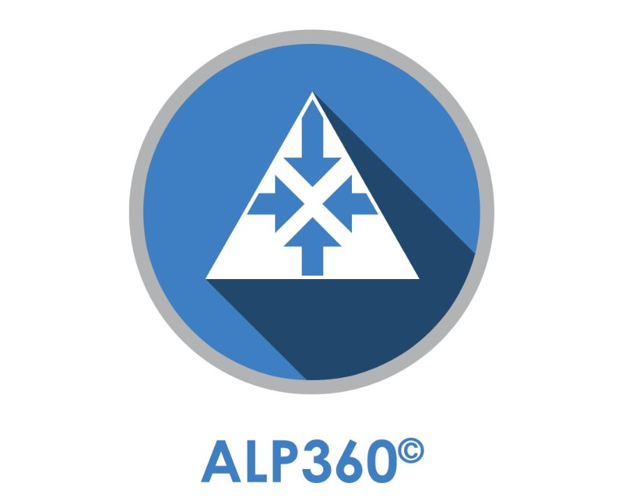 ALP 360 - ALP360° is a 30-item multi-rater assessment that provides feedback to the participant on both perceptions of leadership style (based on the ALP framework) and the four competencies of emotional intelligence (EQ): Self Awareness, Self Management, Social Awareness and Social Management.