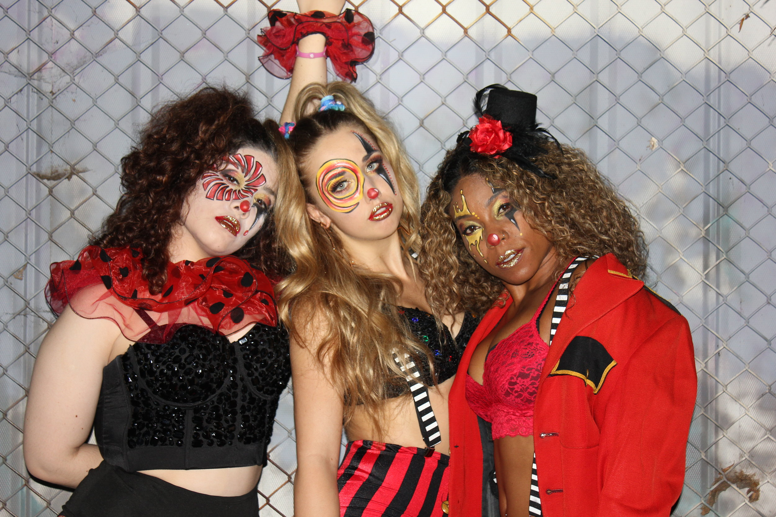 Crazy Circus-Themed Go-Go Dancers -