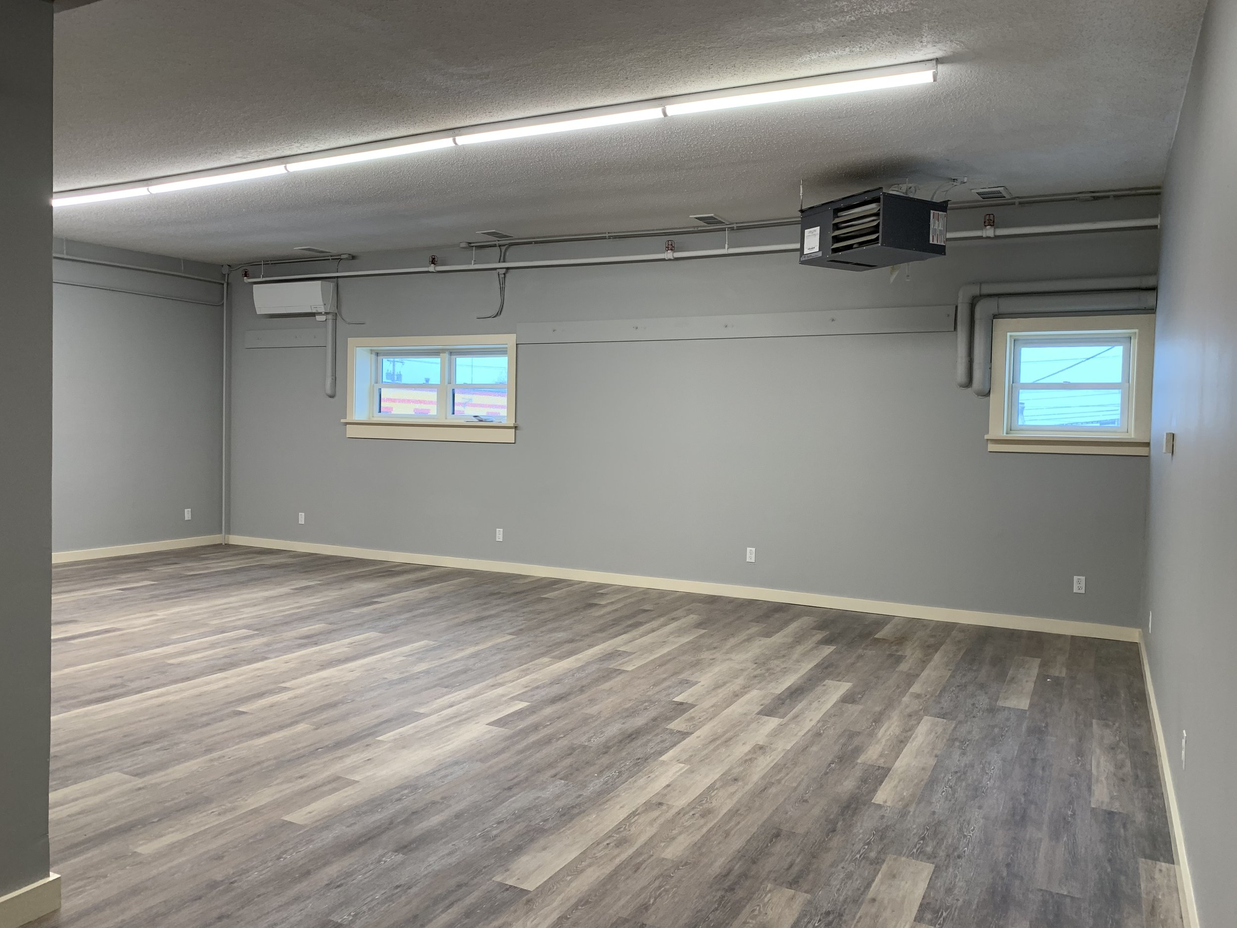 Large workroom