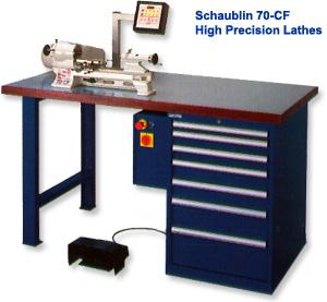 Schaublin - High Precision Lathes