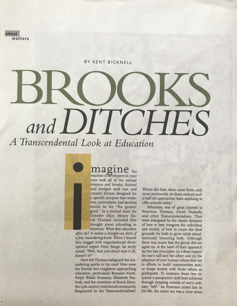Brooks & Ditches