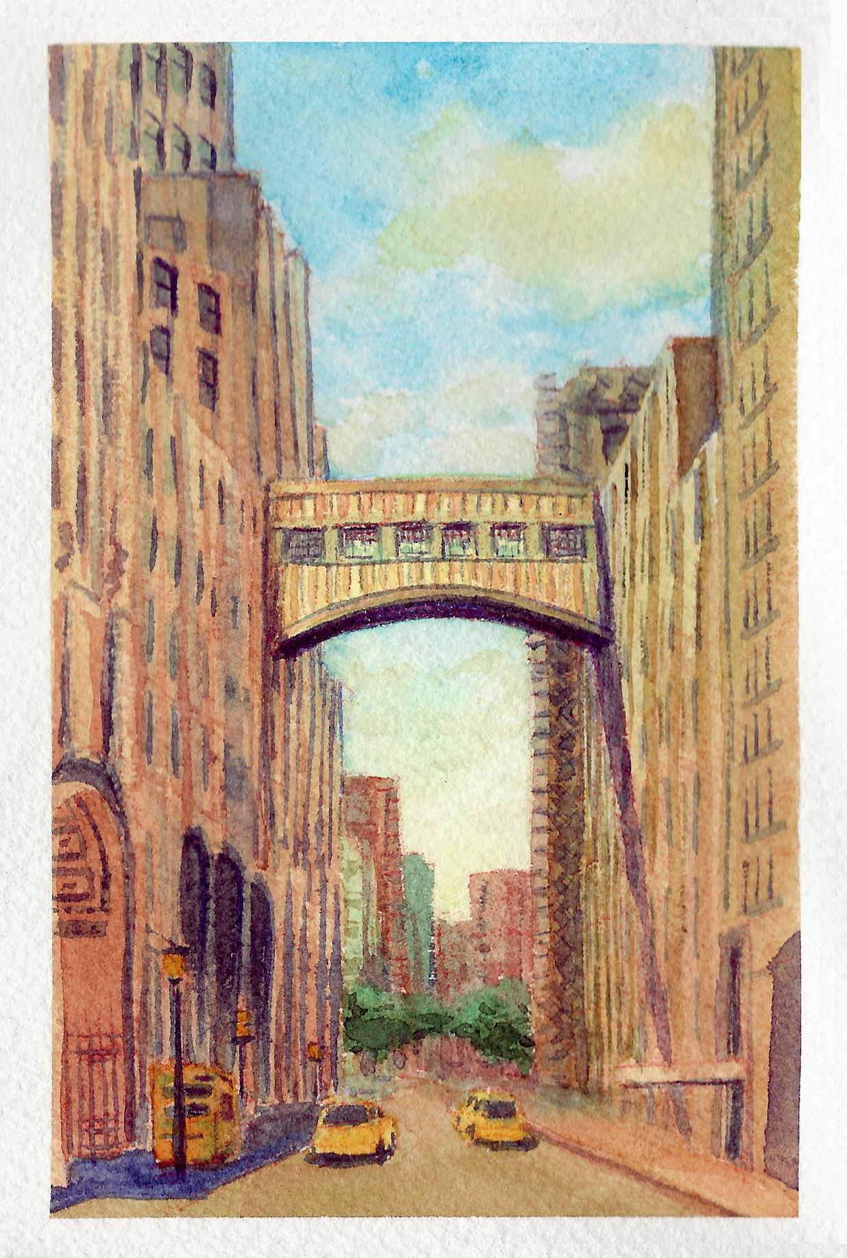 nyc sketchbook-35 Golden Bridge.png