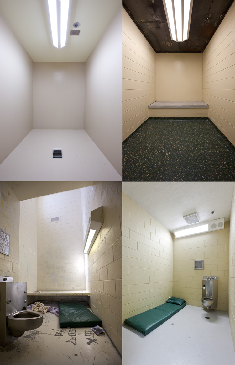 In juvenile treatment facilities, the stay-time in isolation and observation rooms can vary from short-term (like time-out sites) to longer term. -