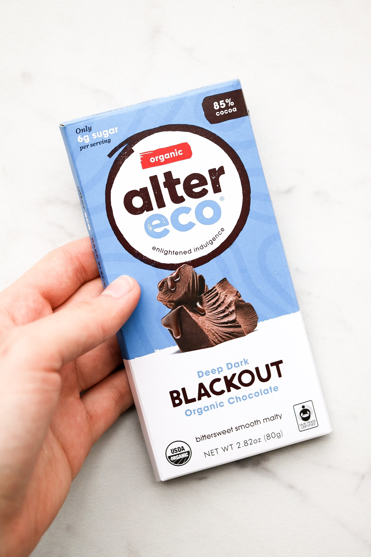 I LOVE this super dark chocolate from Alter Eco - wonderful for baking!
