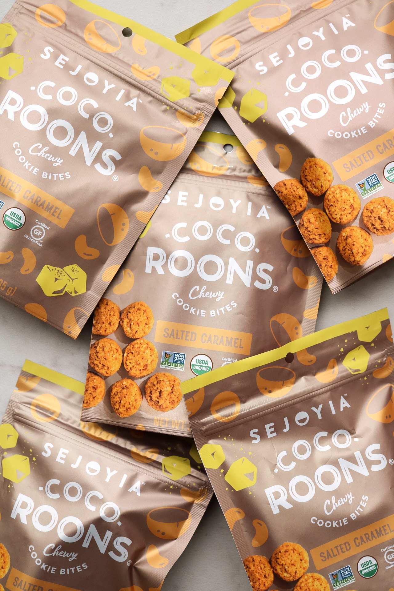 The star of the show! These coco-roons add such a nice chewiness to the brownies, as well as the salted caramel flavor we're looking for.