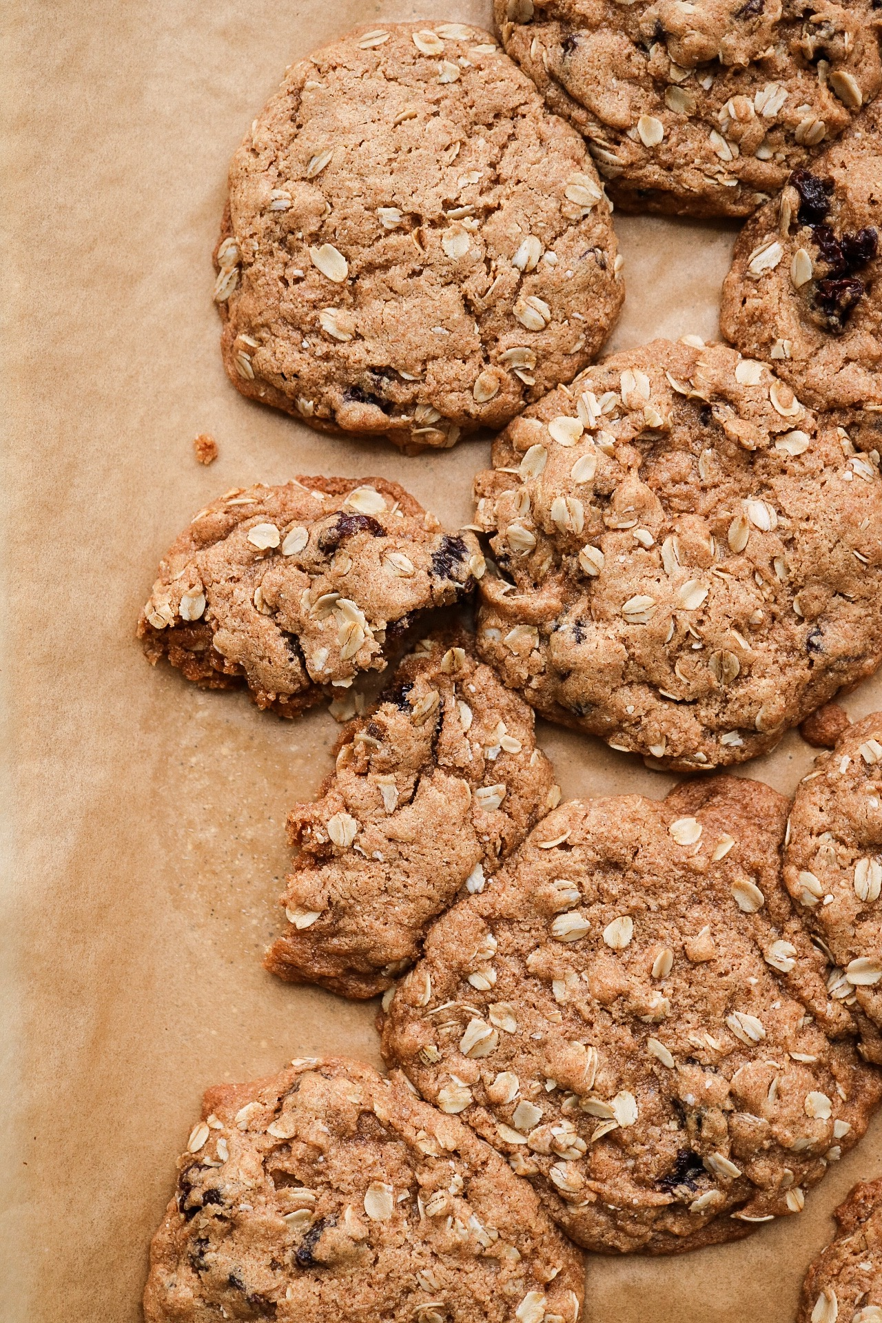 Bake only for 12-13 minutes! If you like really crispy cookies, you could add an extra minute but they're best when they're still a bit soft.