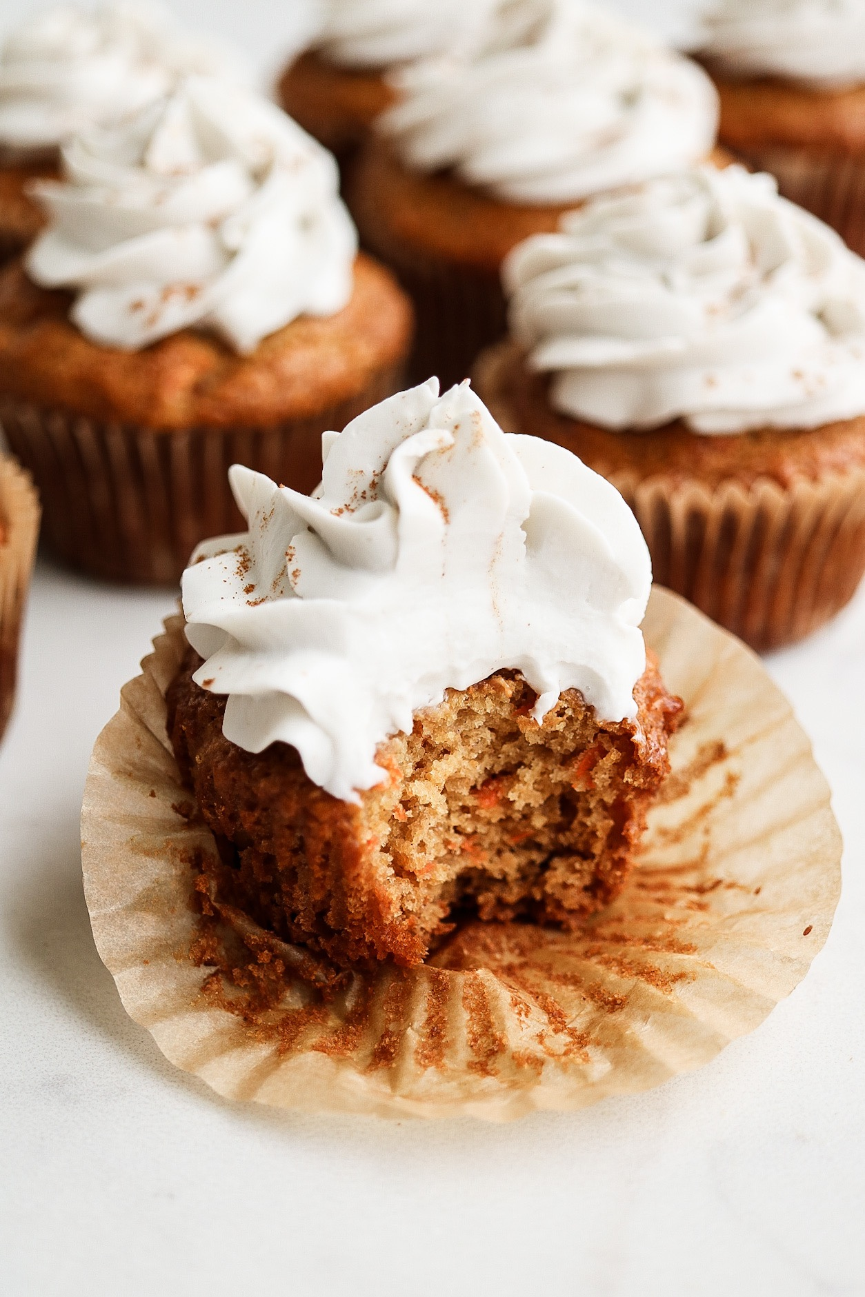 Fluffy and sweet - just the way a carrot cake should be!