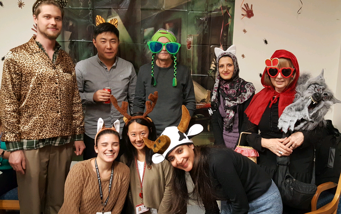 Pharmacology Halloween Party, Fall 2016