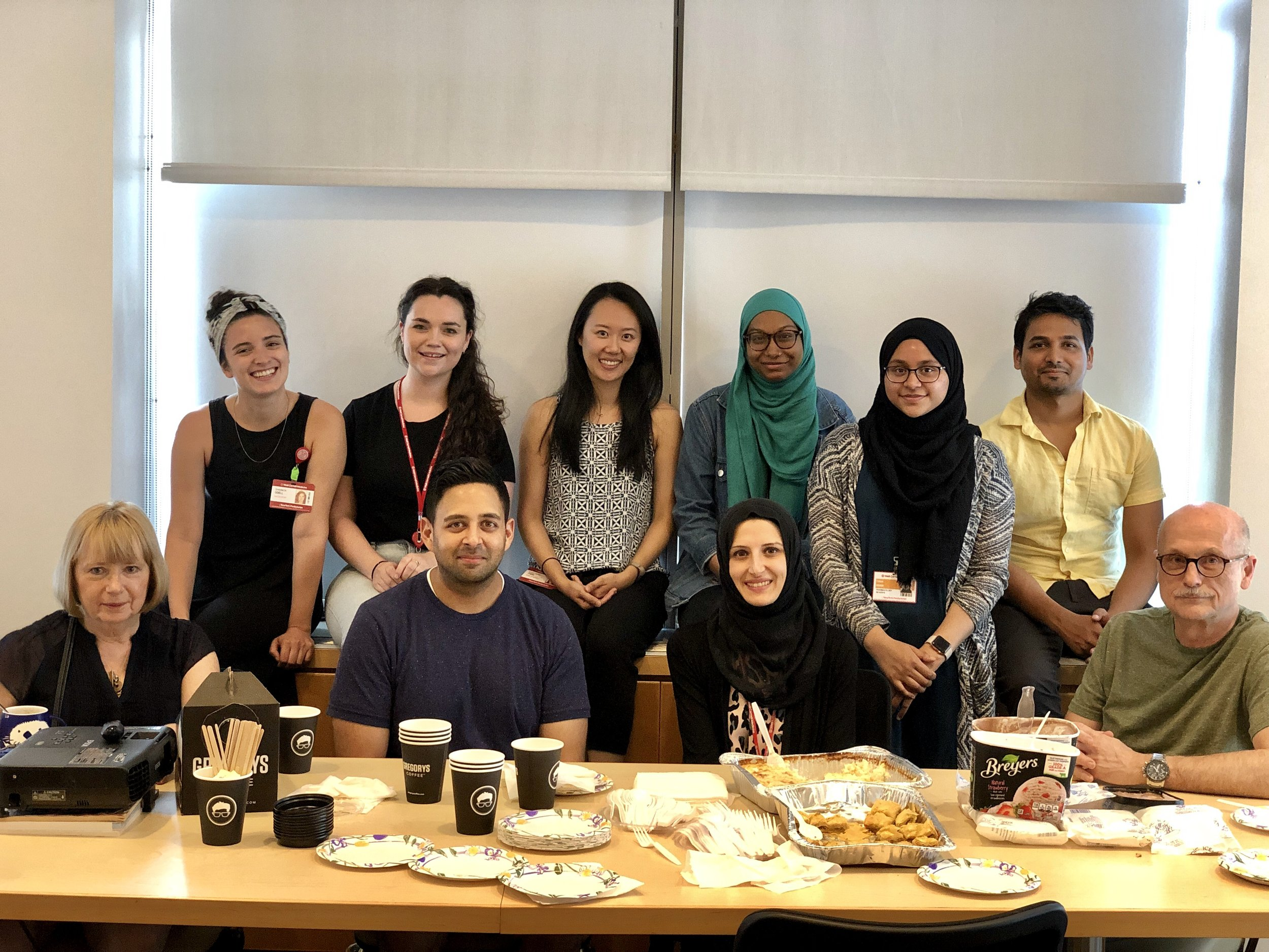 The Toth Lab: powered by coffee and dessert, Summer 2019