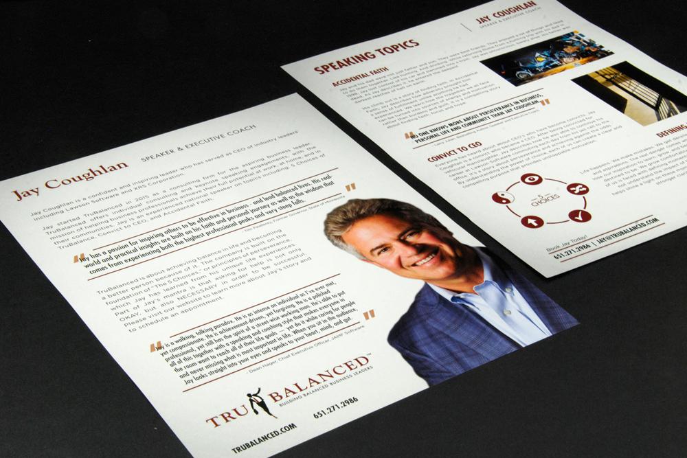 TRU BALANCED - Logo Design • Brand and Identity Design • Print Collateral • Web • Promotional