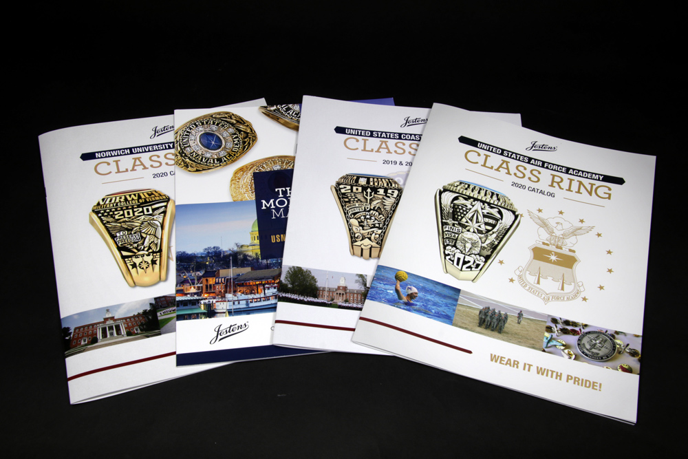 JOSTENS - Brochure Design and Layout • Print Collateral • Photo Rendering