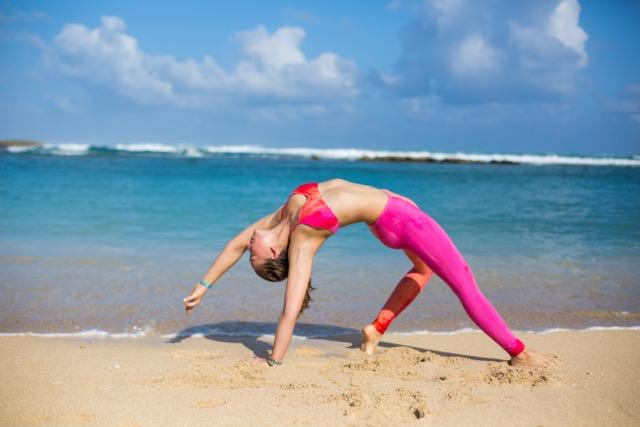 Valerie Yoga Beach