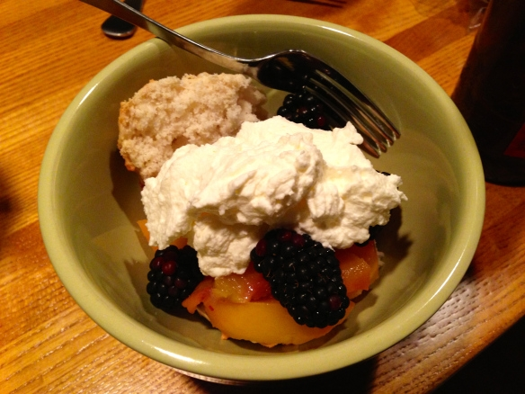 Dessert withwhipped cream
