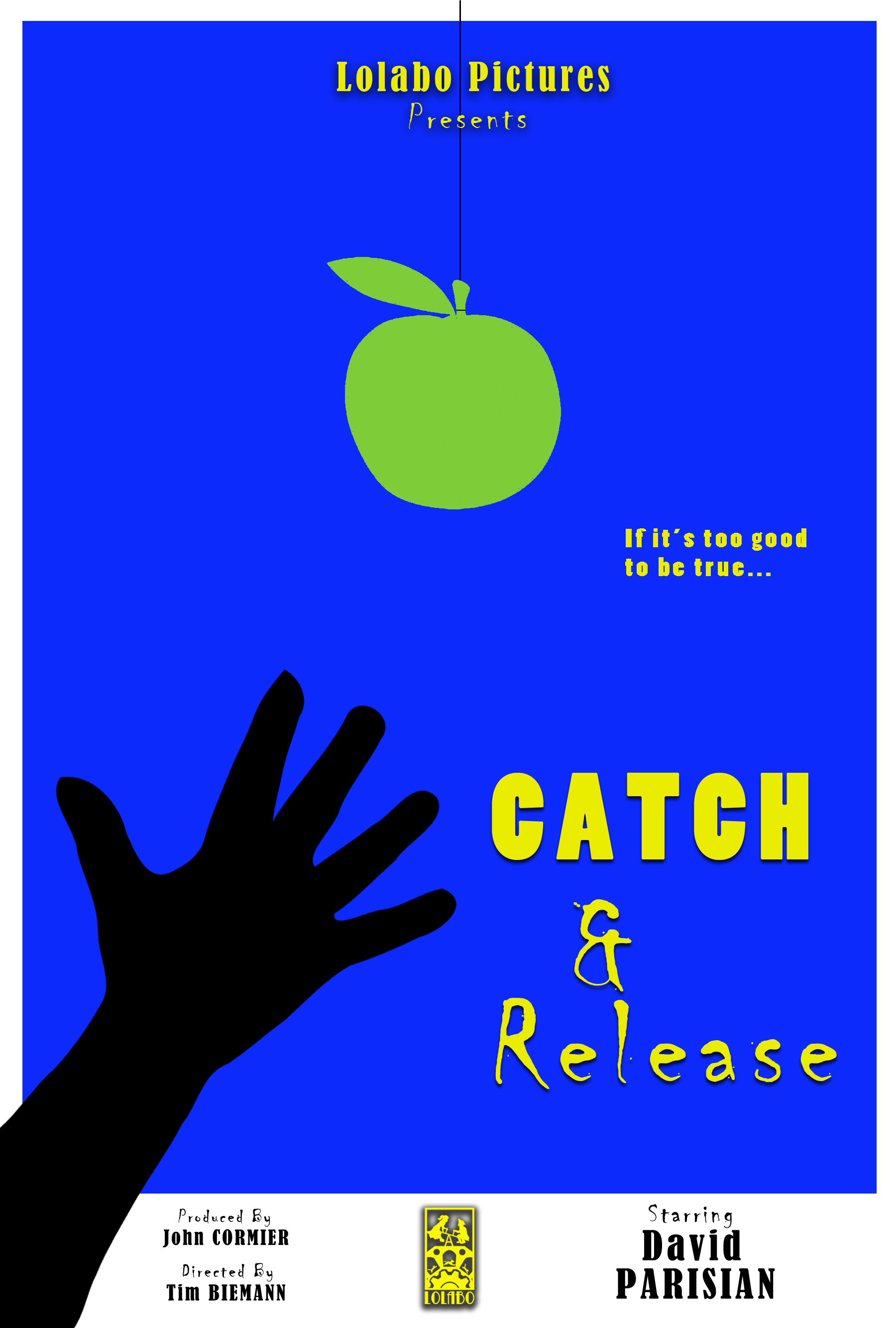 Catch & Release - A homeless man is graciously blessed by the unwarranted attention from mysterious benefactor. But while each handout warms his heart and fills his belly, these apparent gifts of goodwill begin to lead him down a path of suspicion and paranoia.