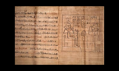 The history of greeting cards - dates back to the ancient Chinese who exchanged messages of goodwill to celebrate a New Year, and to early Egyptians who used papyrus scrolls to send greetings.*