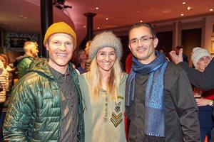 Jake Black, Gretchen Bleiler, and Mario Molina