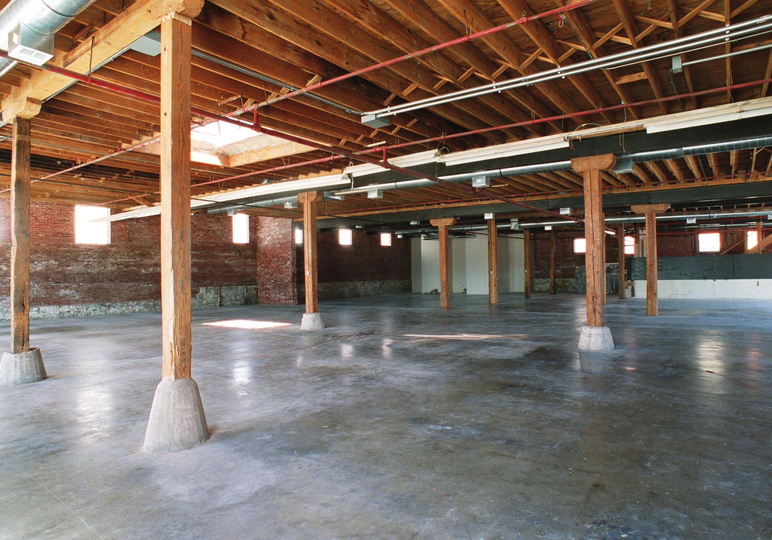 Anderson Building interior -  after