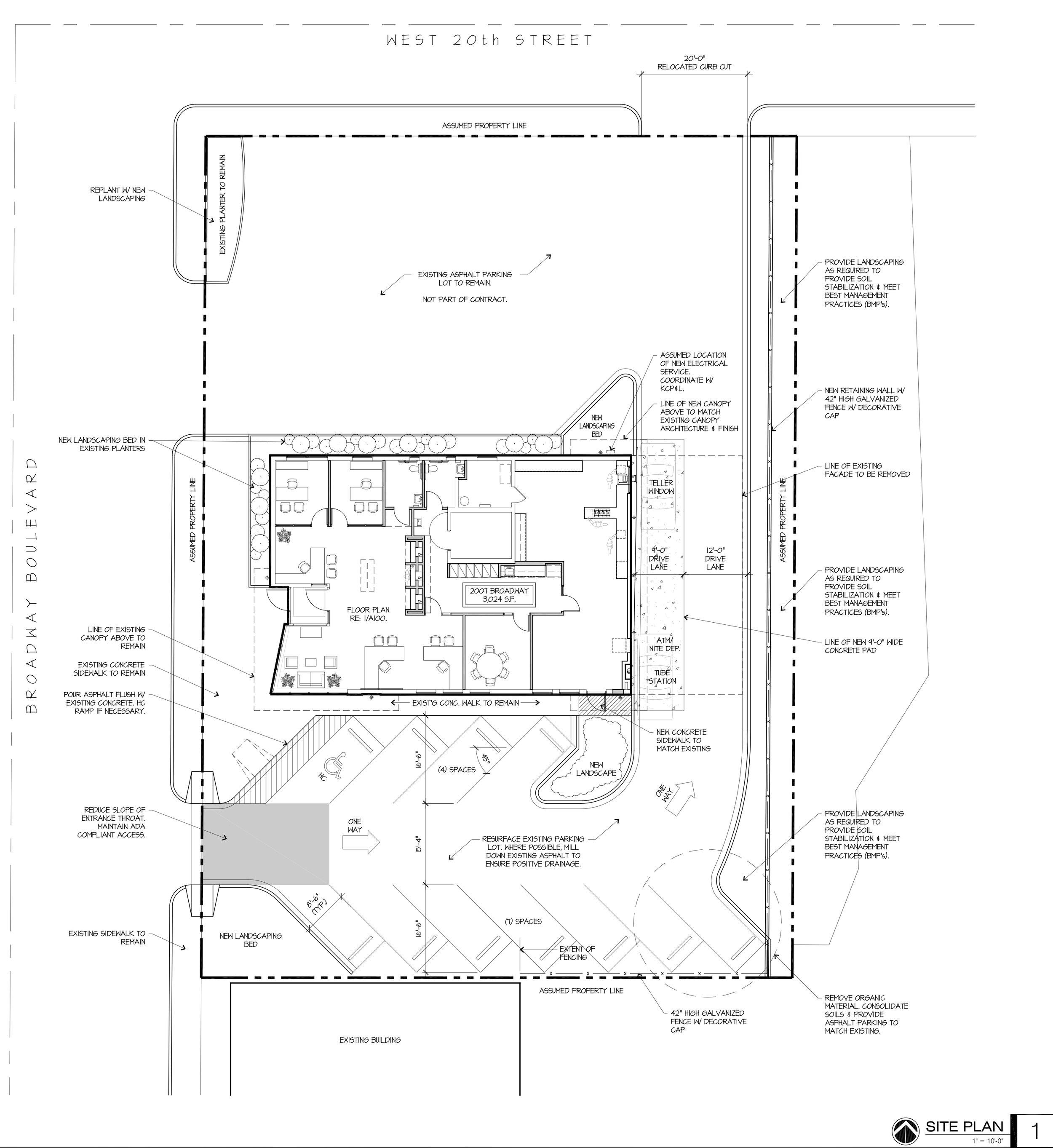 Sier2007 broadway -  Site plan