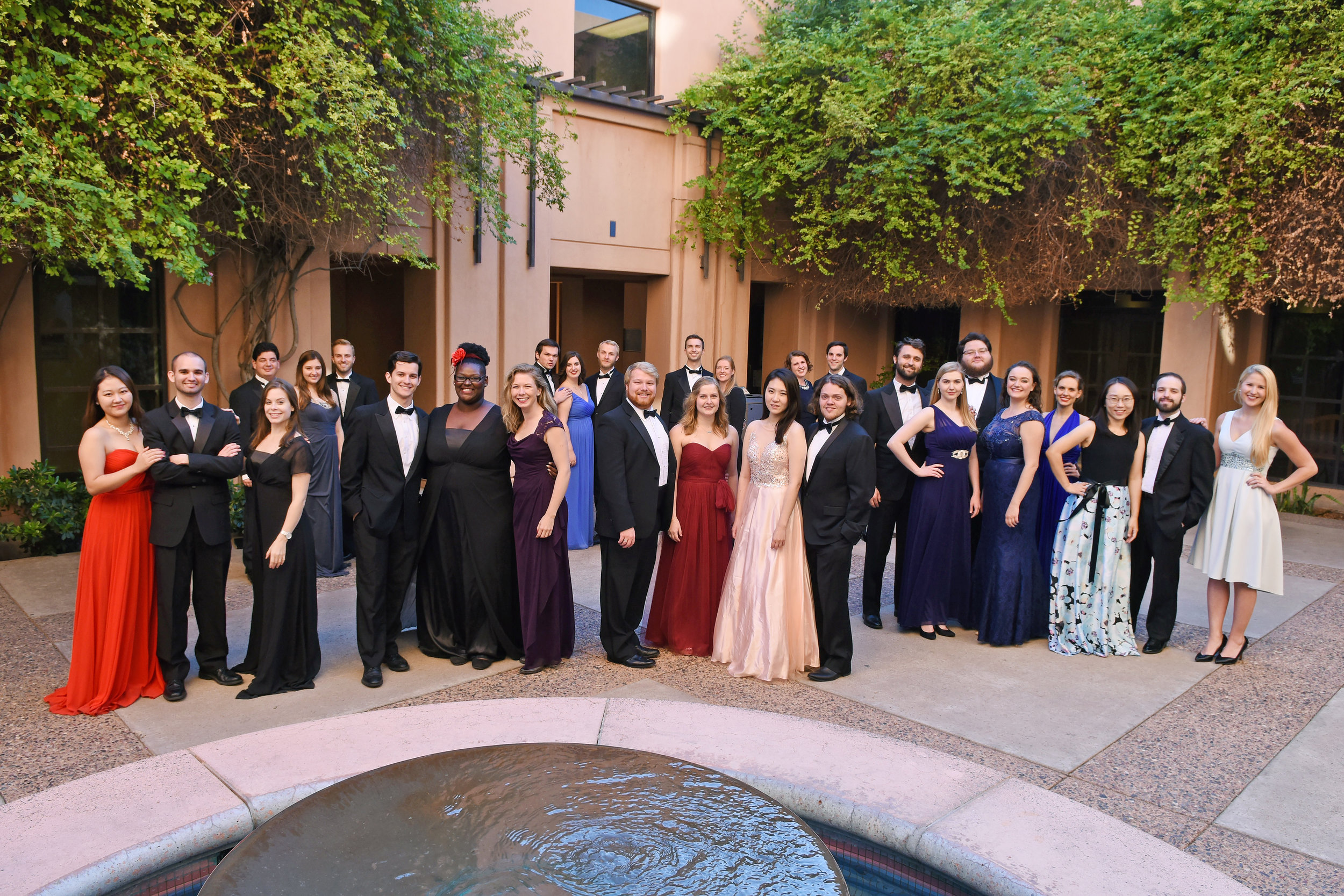 A recent photo of the ASU Chamber Singers. many of these musicians are now members of Euphony. We'll replace this with a photo of the actual group once we get together!