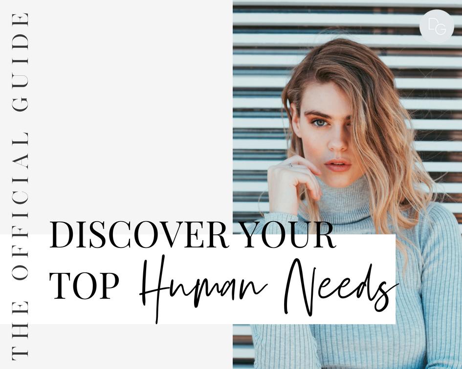 TOP HUMAN NEEDS