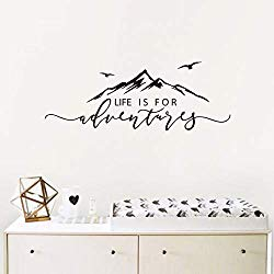 Life is for adventure wall decal-amazon 10.01