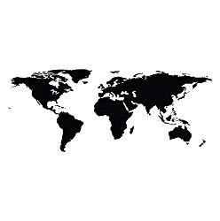 World Map Decal-Amazon 19.99