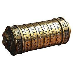 Da Vinci Code Cryptex- amazon 50.99
