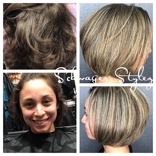 Sometimes you need to try blonde on for size #schwagerstylez #bobhaircut #highlights #sassygirl #blondeatheart #whatwillhappennextappointment #coloradospringsstylist #phenixsalonsuites