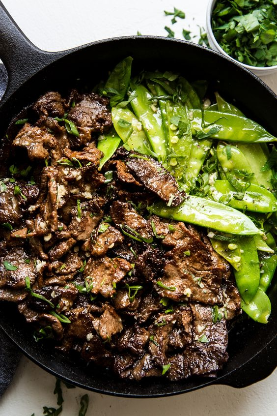 Garlic Butter Steak Stir Fry
