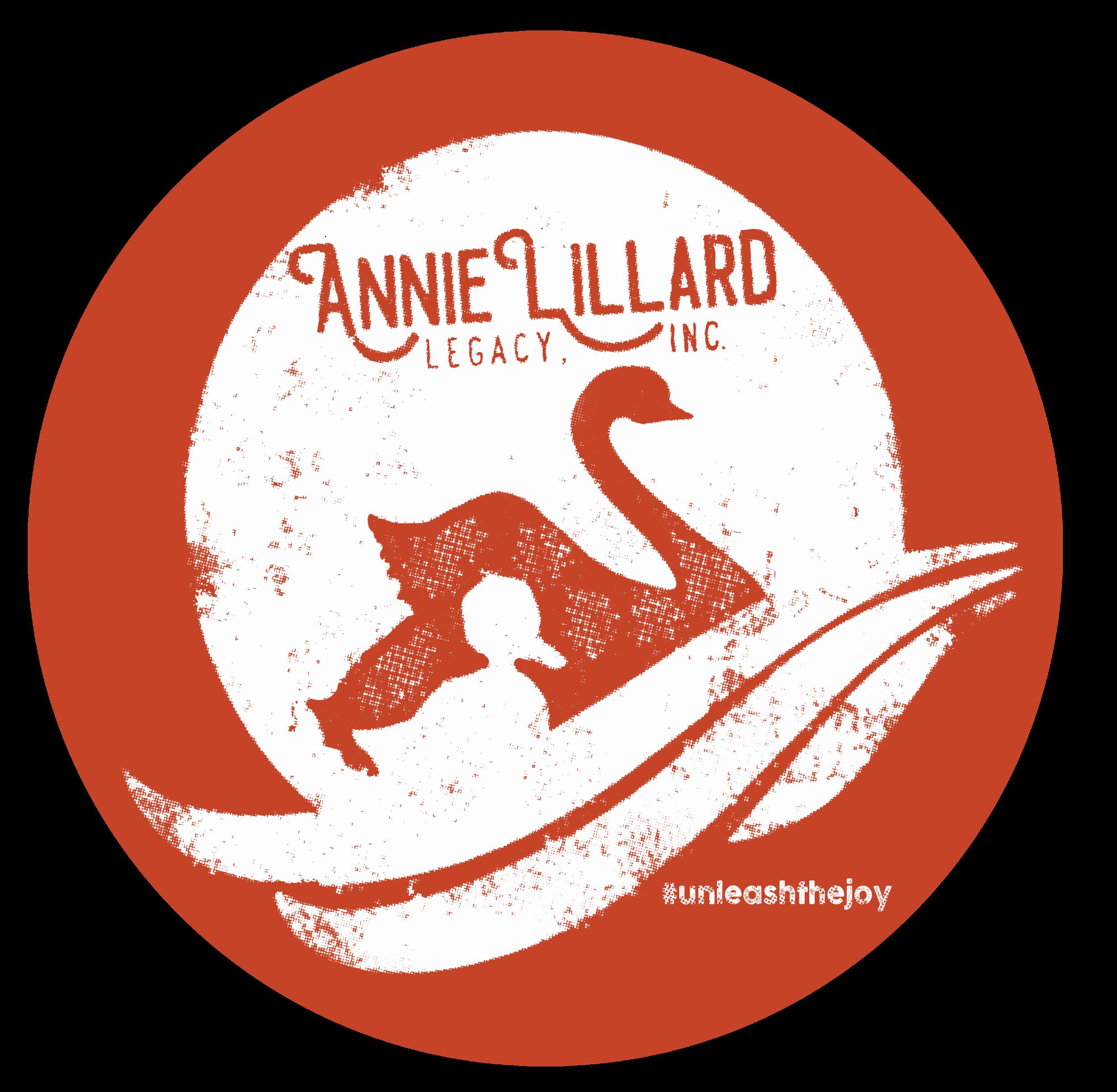 Annie Lillard Legacy Logo Sticker Annie Lillard Legacy Inc