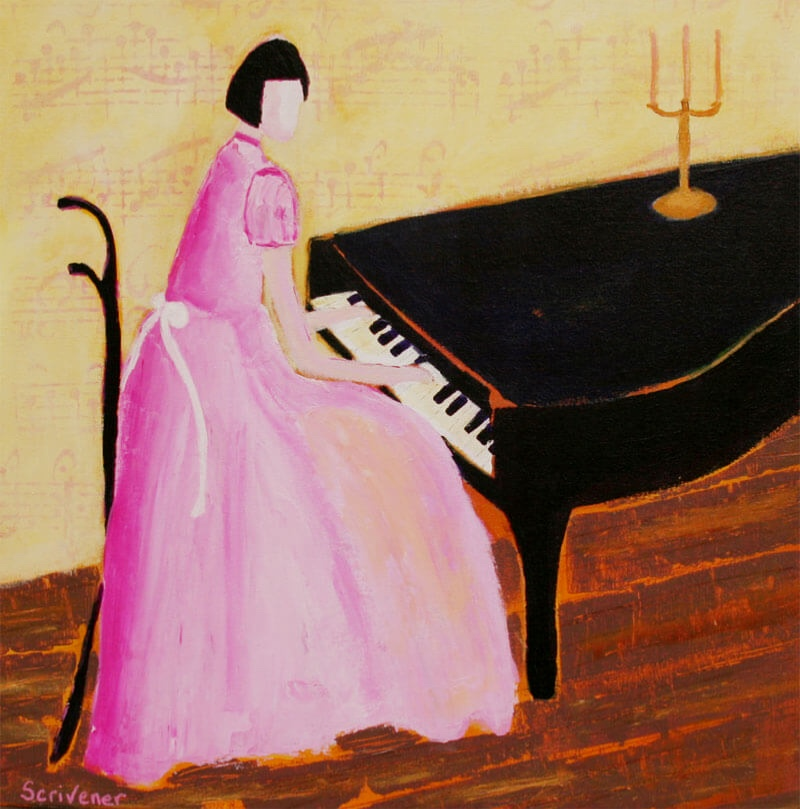 Scrivener--Recital-in-Pink-20x20-acrylic-MR-600px.jpg