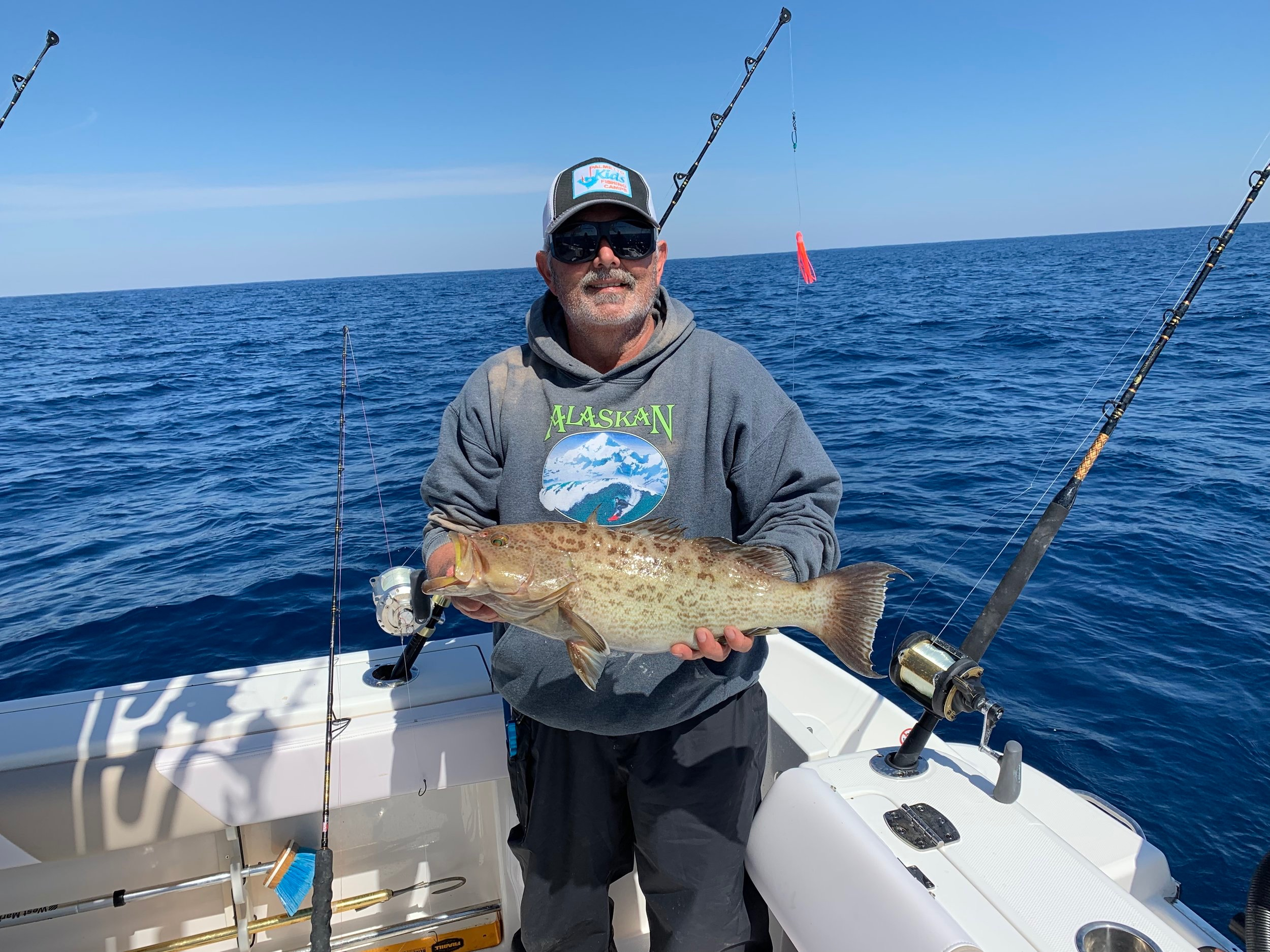 Mark's Scamp Grouper is one of the best eating fish, period!