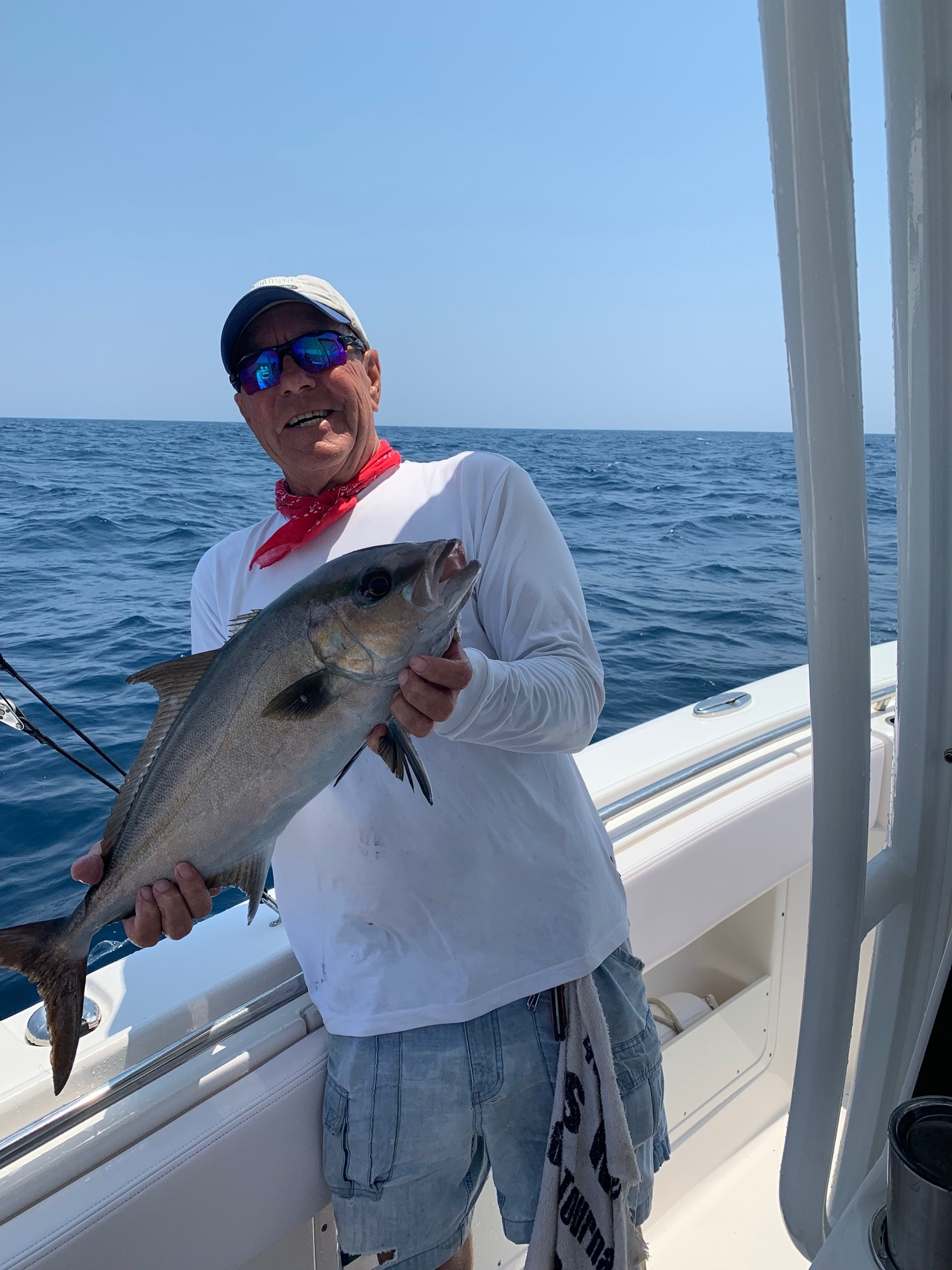 Rick & his son had a great time catching Greater Amberjack, Red Porgy, & Red Snapper today!