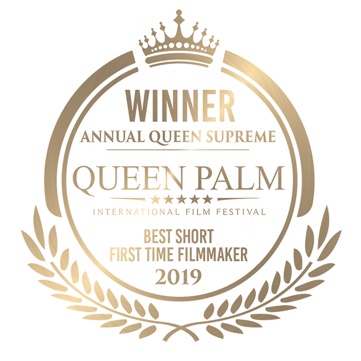 QPIFF Annual Queen Supreme Winner - Best Short - First Time Filmmaker (GOLD).jpg