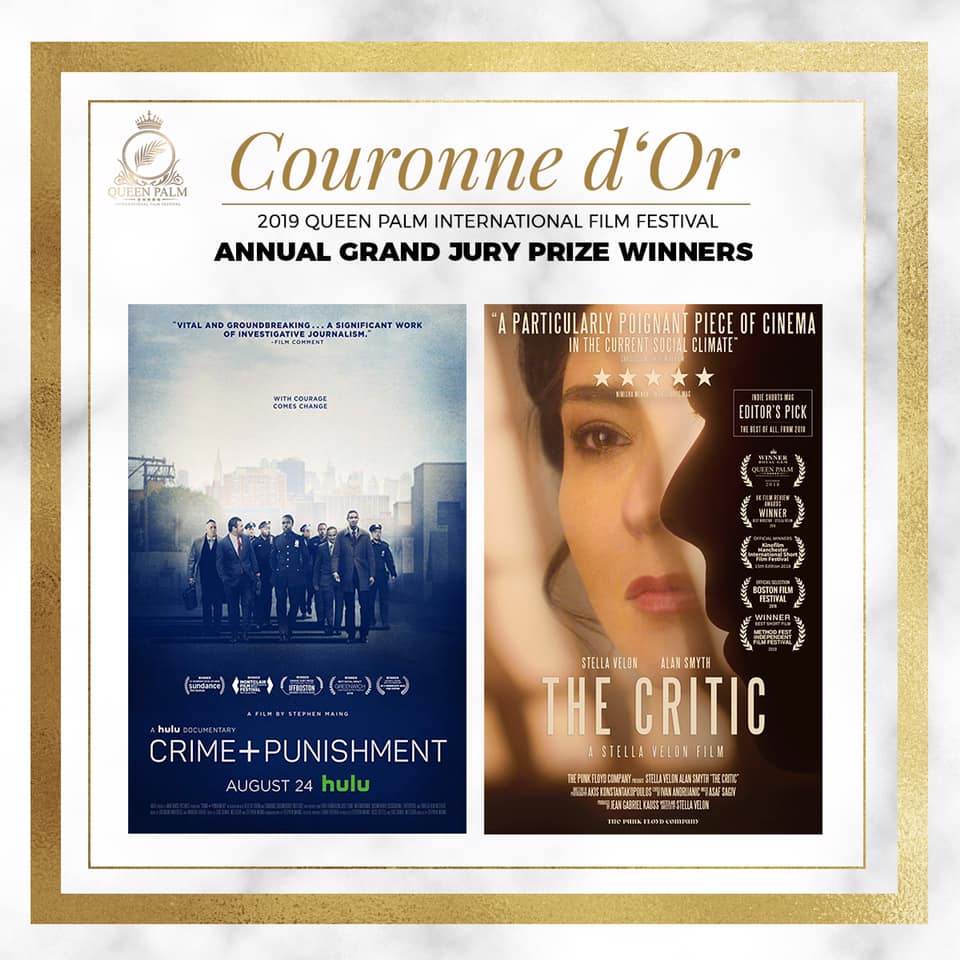 Read more:  queenpalmfilmfest.org/2019-annual-couronne-dor-winners