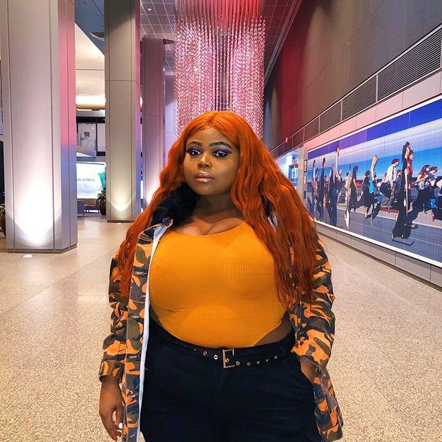 Reaching new heights with DCMO, cant wait to drop more. Thanks for having me @applemusic 🧡 • • • • • • • • • •  #fashionnovacurve #plussize #plussizemodel #psblogger  #fullfigured #fullfiguredfashion  #EffYourBeautyStandards #goldenconfidence  #plusmodelmag  #forever21plus #plusisequal  #plussizelife #curvygirl  #congolese #congolaise #bodypositive  #recordingartist  #singersongwriter #singer #songwriter #torontomusic  #newmusic #newmusicalert #songwriters #applemusic #torontophotography #applemusicplaylist #orangehair #rainbowshops #LUKALA