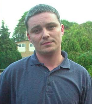 Ian Huntley, aged 29.
