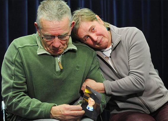 Joanna's parents, David and Teresa (source: The Guardian)
