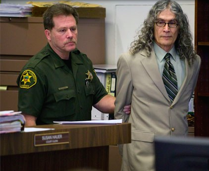 Alcala at the murder trial in 2010 (source: LA Weekly)