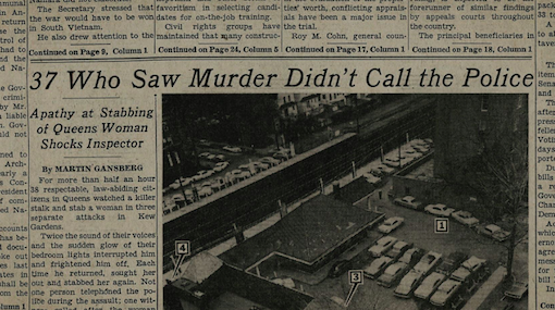 The original article in The New York Times (source: thirteen.org)