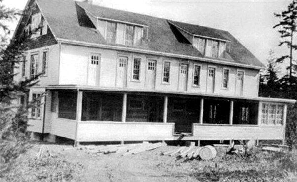 "Hazzard's ""School of Health"", was built in 1920, and burned down in 1935. It was never rebuilt. (source: Murderpedia)"