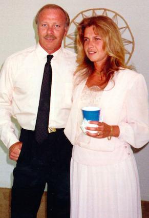 Чендлер и Дебра в день свадьбы (источник: Tampa Bay Times)